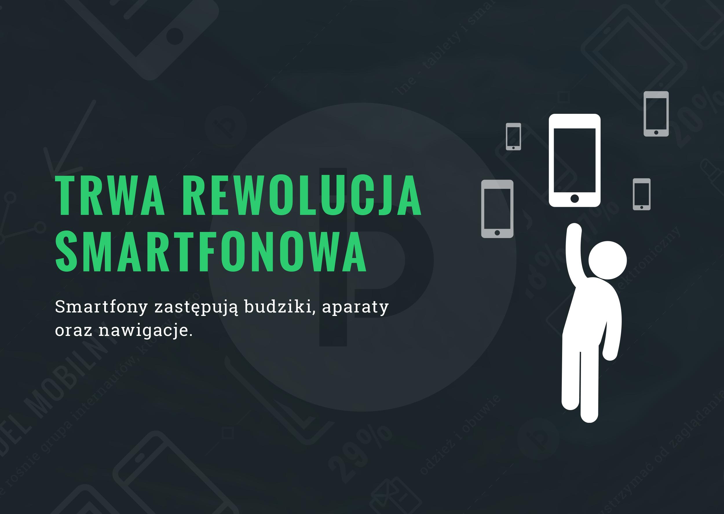 Smartfonowa rewolucja trwa - infografika