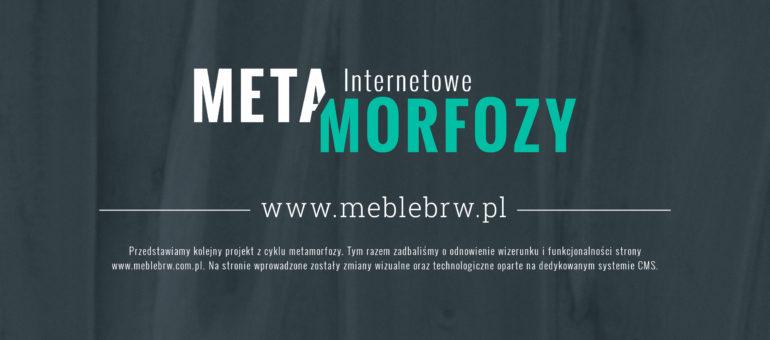 Metamorfoza strony meblebrw.pl