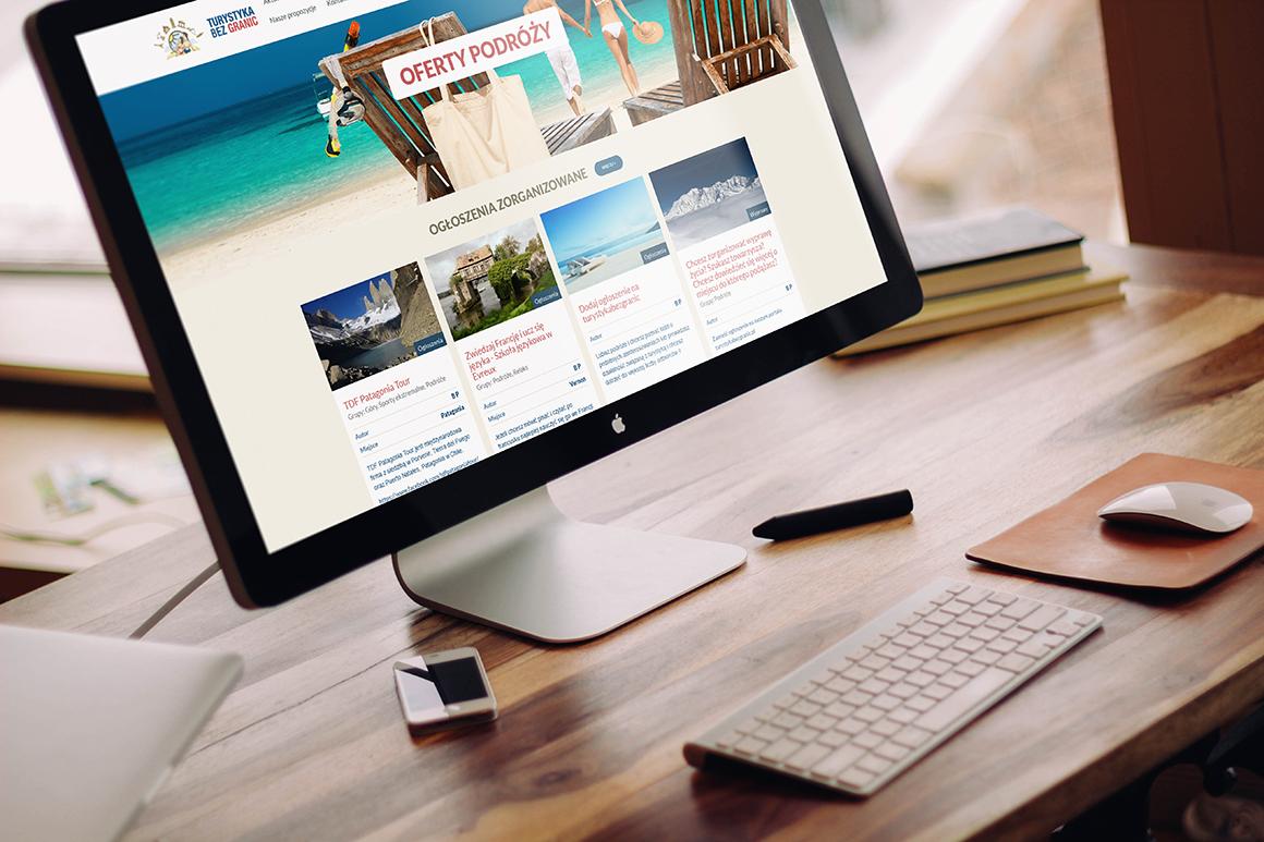 Turystyczny portal internetowy - dedykowane programowanie