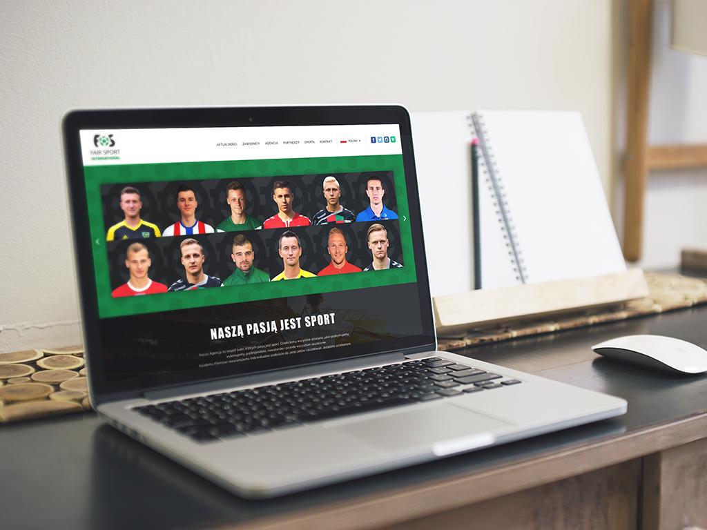 Fair Sport - responsywna strona internetowa