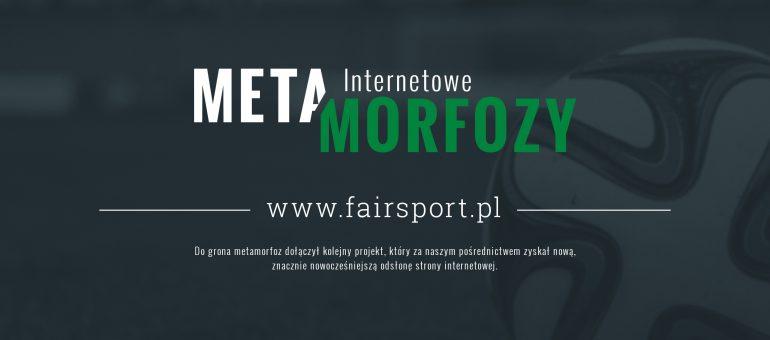 Metamorfoza strony www.fairsport.pl